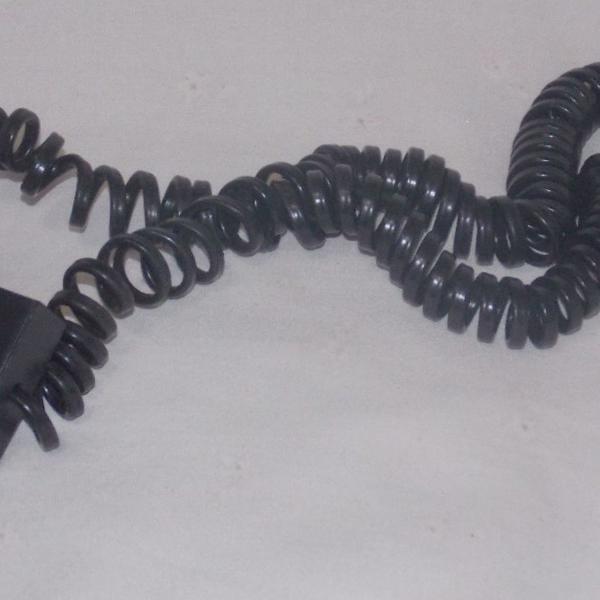 Cabo extensão de telefonica expiral
