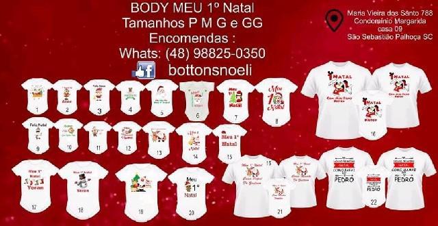 Camisetas personalizadas de natal