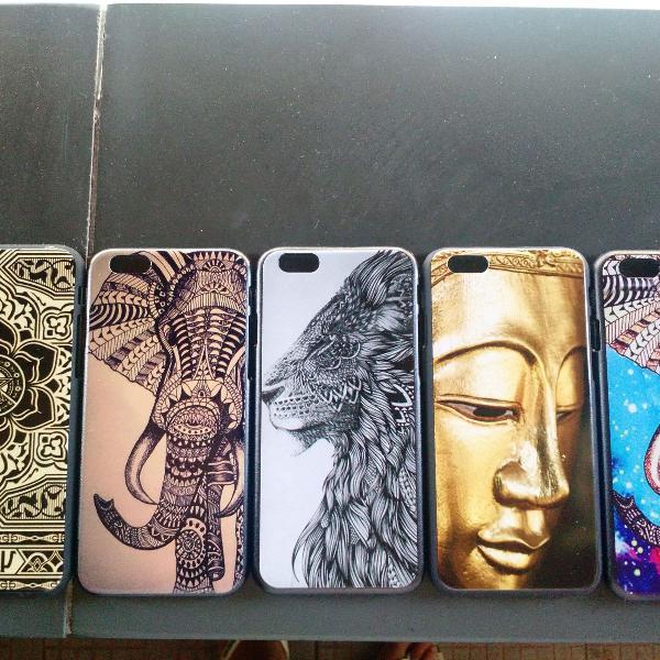 Capas iphone 6 -leve 5 capas pelo preço de 3