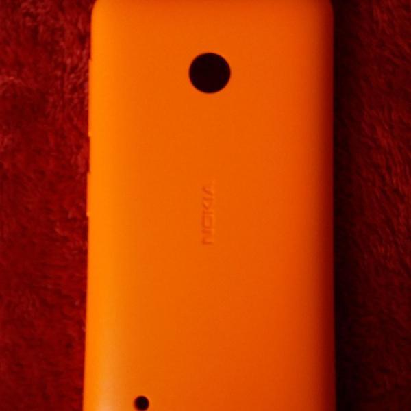 Capinha original laranja do nokia lumia 530 dual sim
