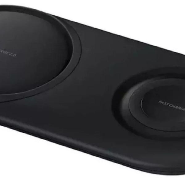 Carregador samsung wireless charge duo lacrado original com