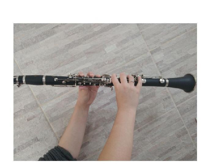Clarinete Sib 17 Chaves Buffet Grampom Modelo B18 Top