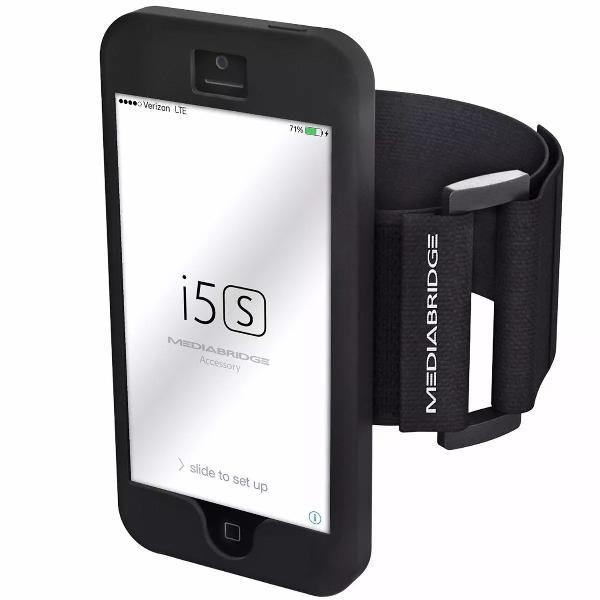 Braçadeira armband para iphone 5 5s da mediabridge