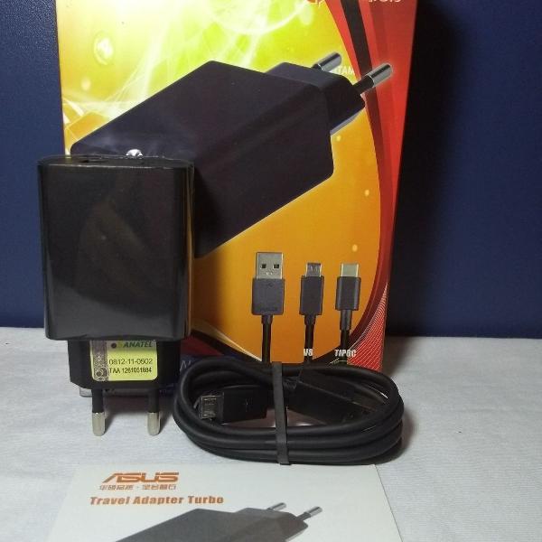 Carregador celular turbo power 30w asus zenfone (sem cabo)