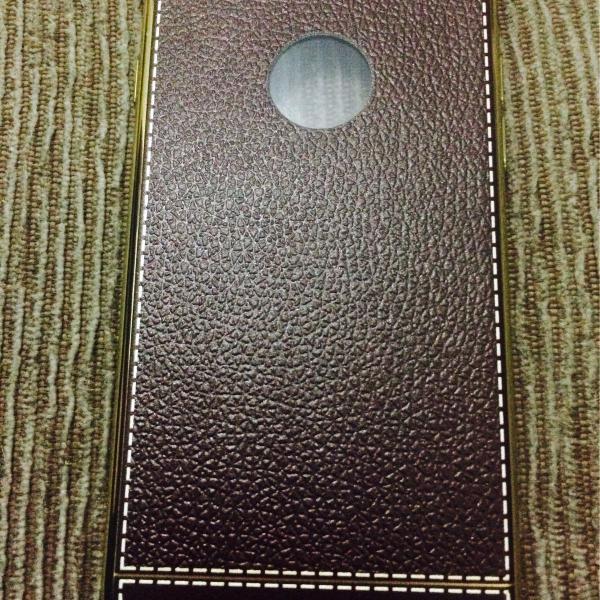 Case de couro iphone 6