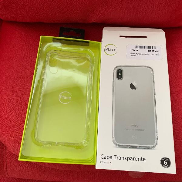 Case transparente iphone x