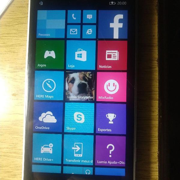 Celular nokia lumia 830 com defeito