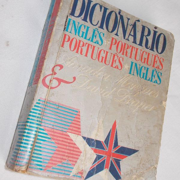 Dicionario inglês português inglês amadeu marques