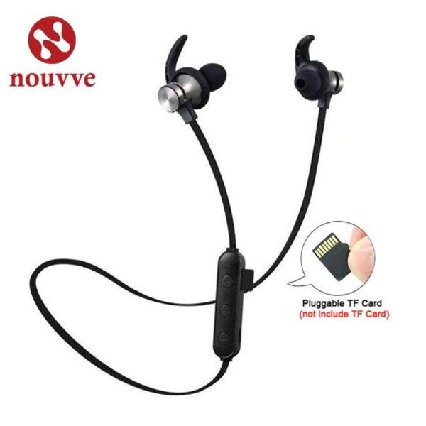 Fone de ouvido headset bluetooth 4.1 sem fio música