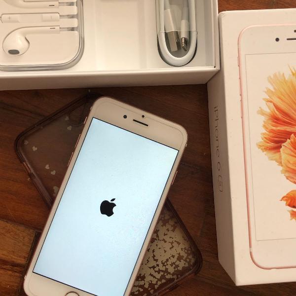 Iphone 6s rosa de 128gb