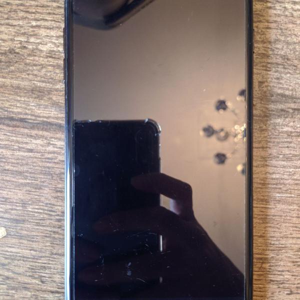 Iphone 7 plus 128gb preto matte com fone bluetooth jbl