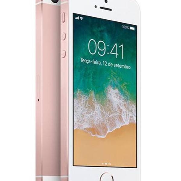 Iphone se rosa 64gb - ótimo estado