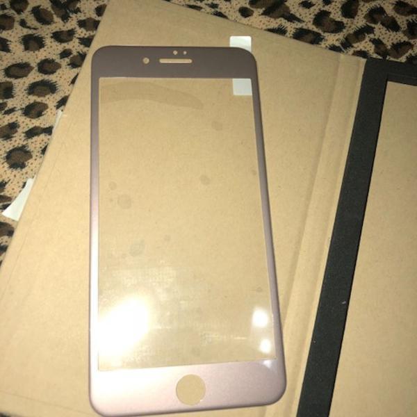 Película vidro + gel para iphone 8 plus