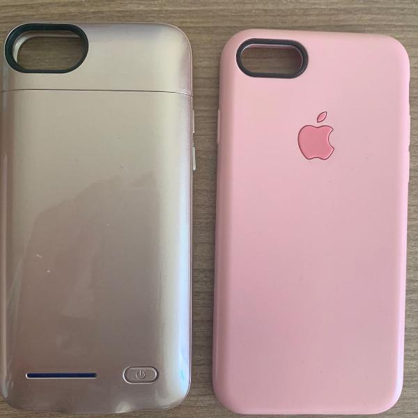 Power case para iphone 8,7,6 e 6s