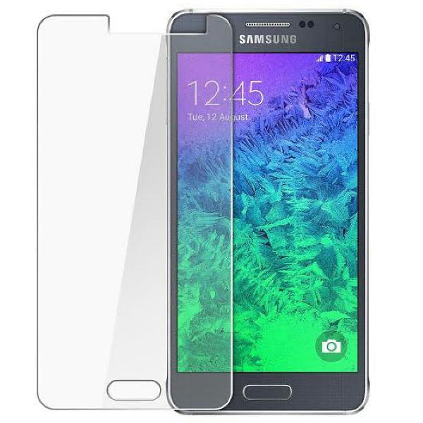 Proteção! pelicula de vidro transparente smartphone a5