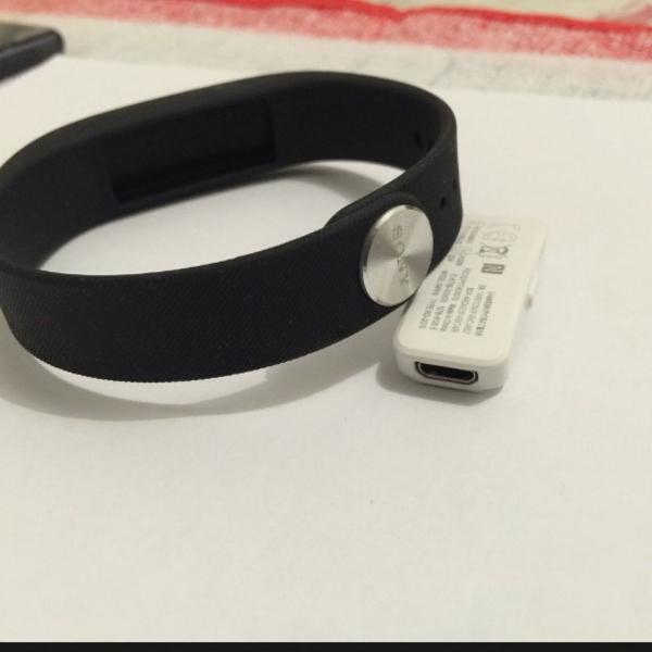 Pulseira smartband sony