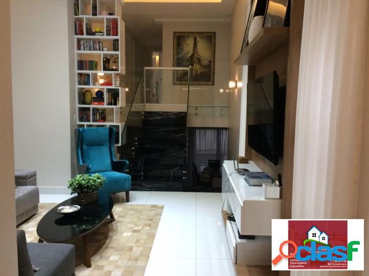 Vende-se belíssima casa alto padrão semi mobiliada no alphaville