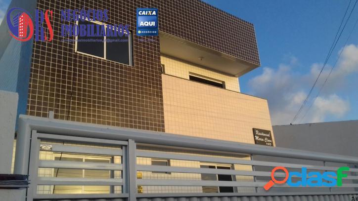Mangabeira - Apartamento com 02 qts sendo 01 suite.