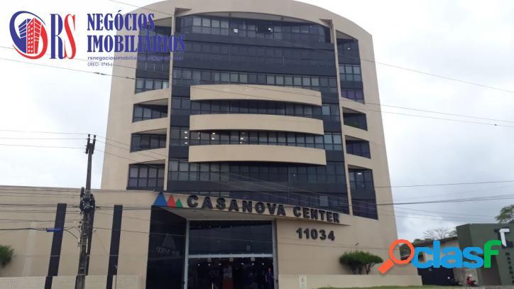 Sala comercial mobiliada - centro comercial casa nova center