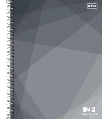Caderno Universitário 1x1 96f Cd 5x5mm 127256 Zip Quadricul