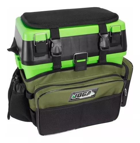 Caixa pesca maleta mochila fishing box jogá multifuncional