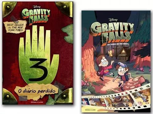 Kit gravity falls um verão de mistérios+ diário perdido 3