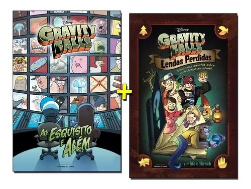 Kit livros gravity falls ao esquisito e al