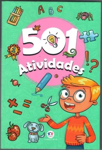Livro 501 Atividades - Infanto Juvenil - Verde