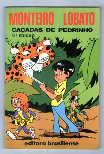 Livro: Caçadas De Pedrinho - Monteiro Lobato