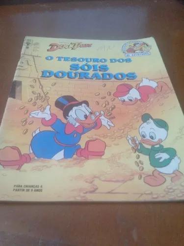 Livro Duck Tales O Tesouro Dos Sóis Dourados