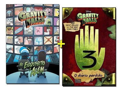 Livro gravity falls ao esquisito e além + diário 3