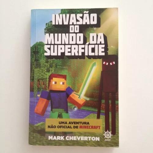 Livro invasão do mundo da superfície minecraft c2