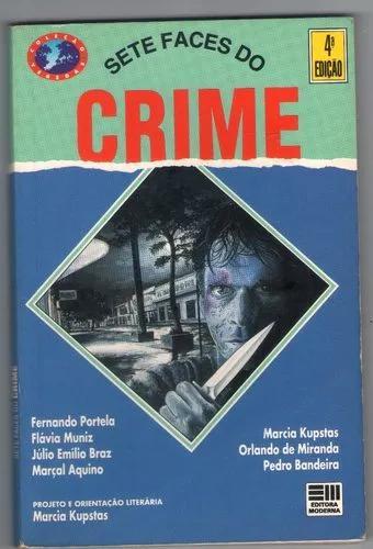 Livro sete faces do crime - infanto juvenil - suspense