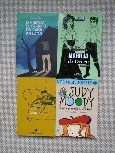 Lote coleção de livros infanto juvenil 16 livros