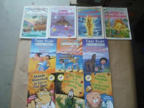 Lote com 10 livros infanto juvenil