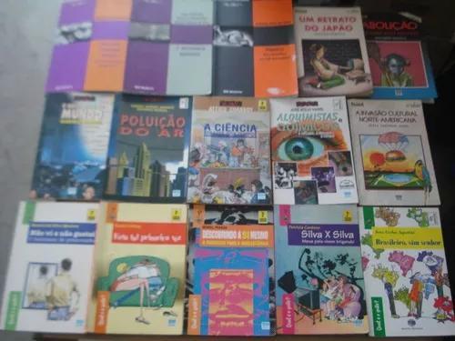Lote com 15 livros infanto juvenil polêmica e qual é o
