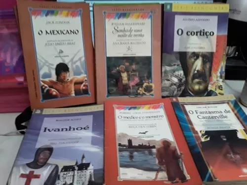 Lote de livros infanto juvenil - série reencontro 12 livros