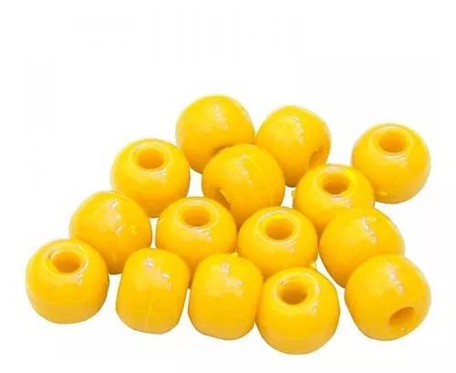 Miçangas bóias barão - várias cores - 10 e 15 unidades