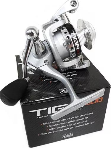 Micro molinete pesca tiga 600 ultra light marine sports 4ro.