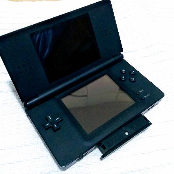 Nintendo ds lite preto