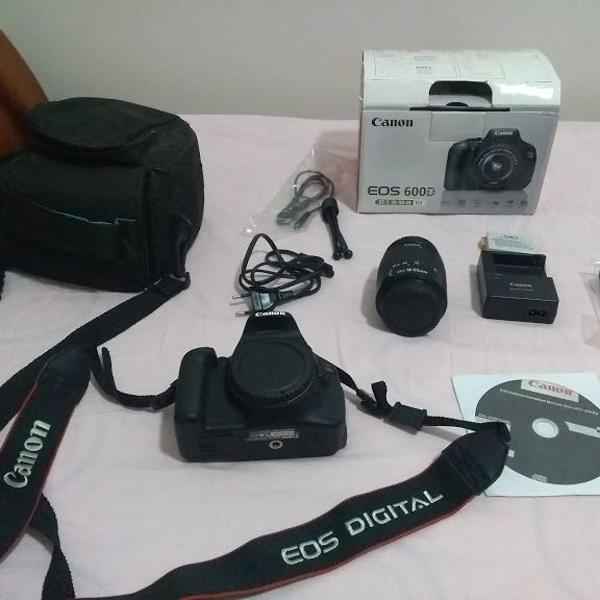 Camera canon 600d (t3i)