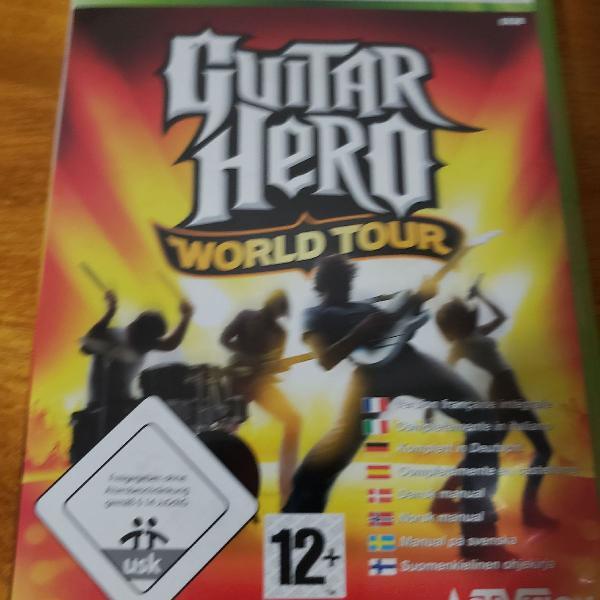 Combo guitar hero pra xbox!