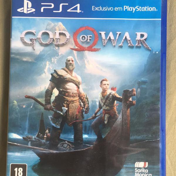 God of war novo ps4