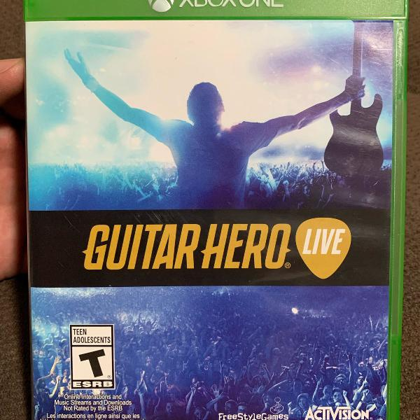 Guitar hero live - bundle 2 guitarras xbox one