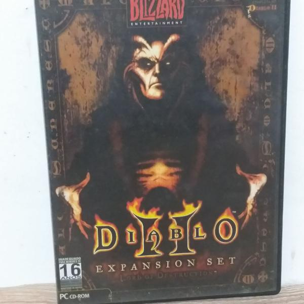 Jogo pc diablo ii (2) + expansão lord of destruction