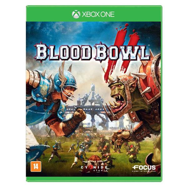 Jogo xbox one blood bowl 2 mídia física