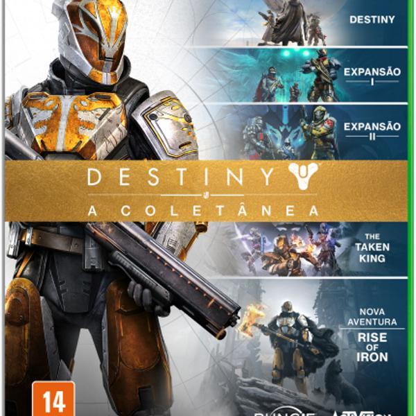 Jogo xbox one destiny a coletânea