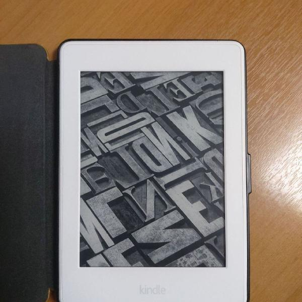 Kindle paperwhite branco