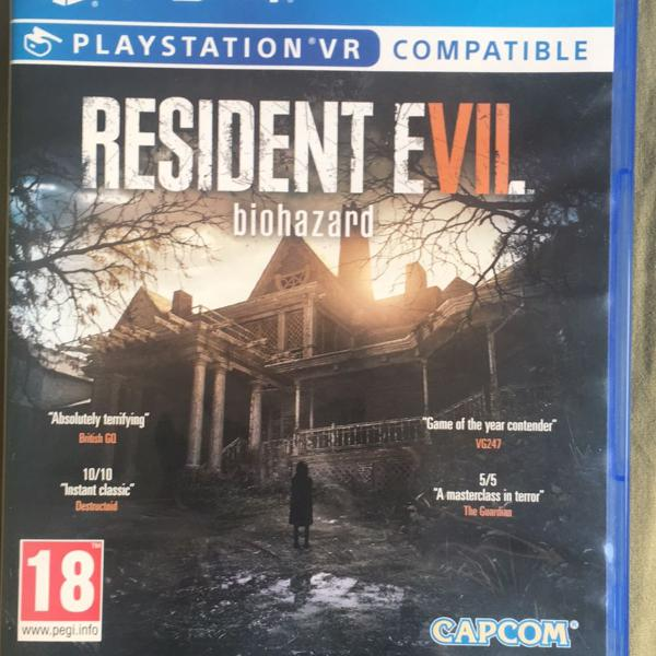 Resident evil 7 biohazard vr compatible ps4