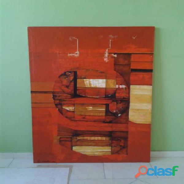 Restauro de rasgos em telas e ou quadros. de pintura